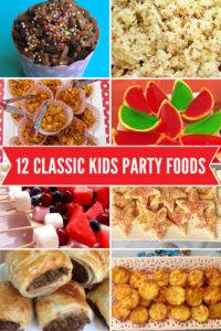 kiddys kingdom kids party planning food snacks