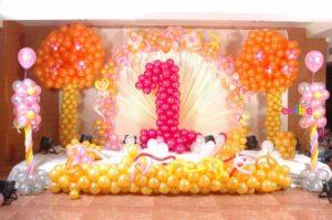 kiddyskingdom first birthday party design