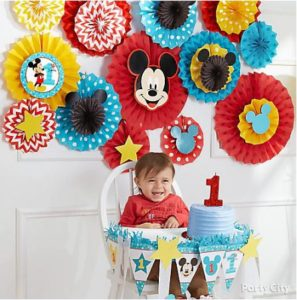kiddys kingdom mickey mouse birthday decorations
