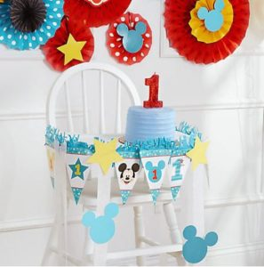 kiddys kingdom mickey mouse birthday decorating kit