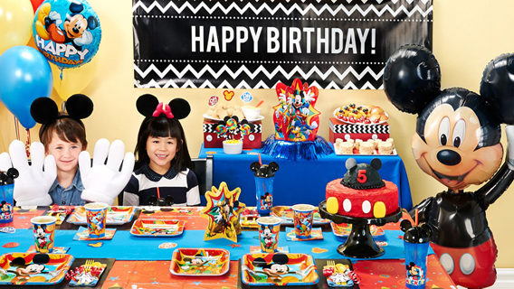 Fun Mickey Mouse Birthday Ideas
