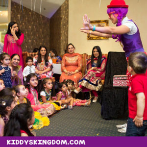 kiddys kingdom kids party planning magician magic shows