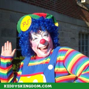kiddys kingdom kids party planning clowns