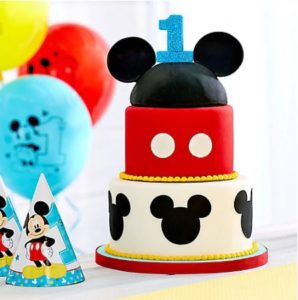 kiddys kingdom mickey mouse birthday cake decorations