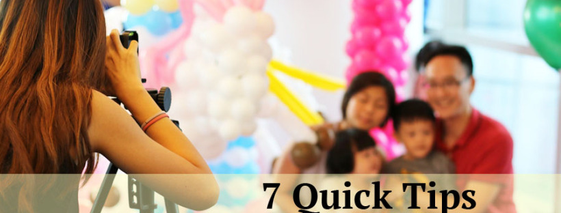 7 Reasons to Hire a Kids Party Photographer