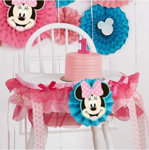 kiddys kingdom minnie mouse birthday decorations