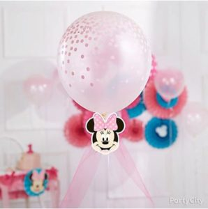 kiddys kingdom minnie mouse birthday balloon