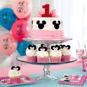 kiddys kingdom minnie mouse birthday cake cupcakes