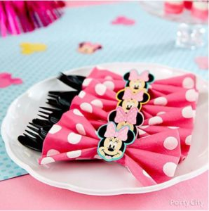 kiddys kingdom minnie mouse birthday napkins