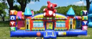 kiddys kingdom kids carnival party bounce house inflatable