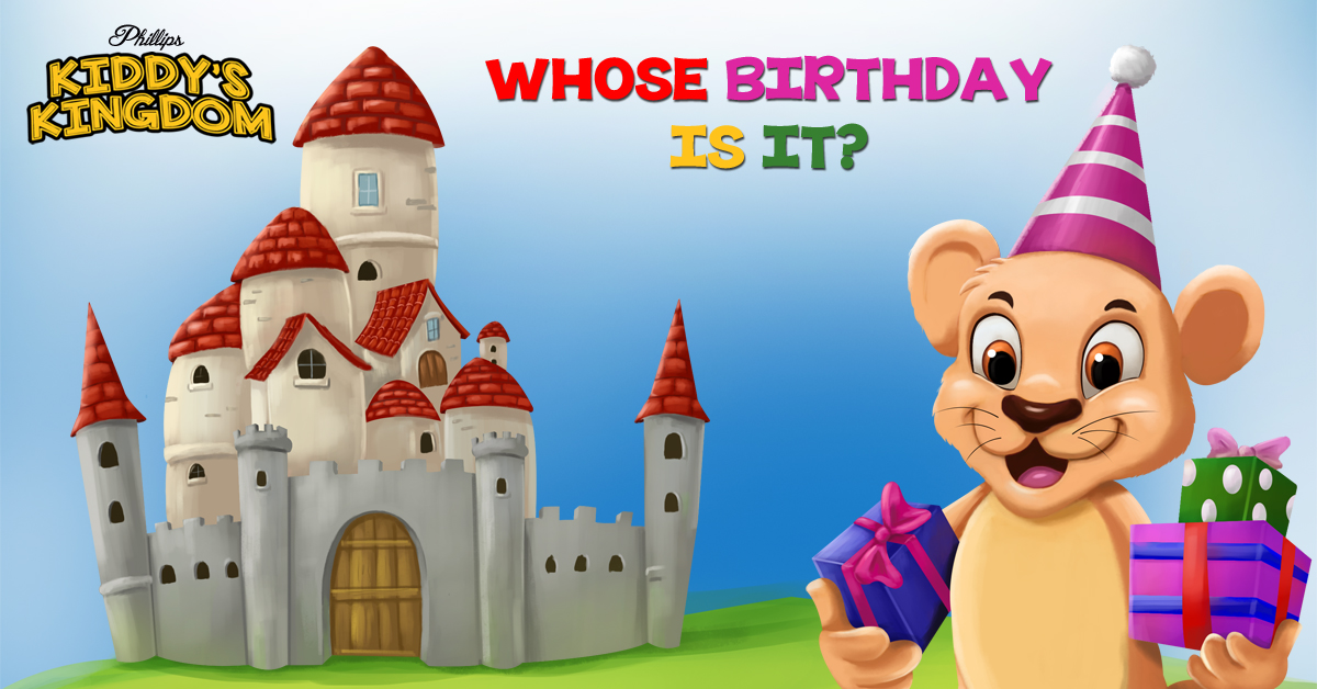"Children's Birthday Book ""Whose Birthday Is It?""  Now Available!"