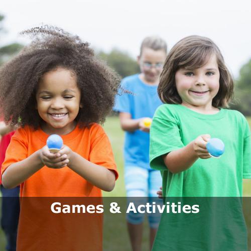 kiddy's kingdom games activities